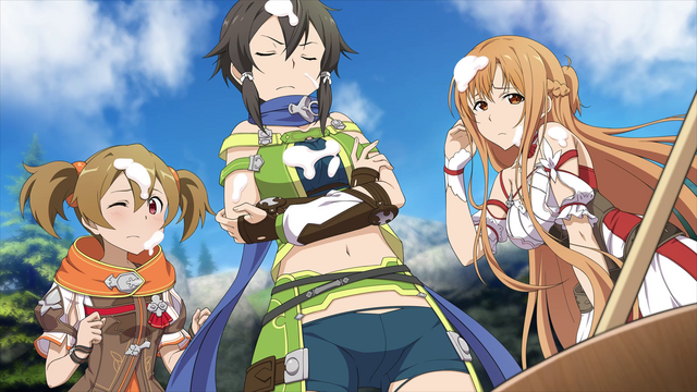 File:Sinon, Asuna and Silica covered in mochi HR.png