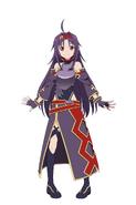 Yuuki Millennium Twilight character design