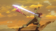 LLENN slicing Eva's throat AGGO E5