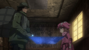 M and LLENN planning their next step after defeating Narrow AGGO S01E04