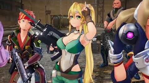 Sword Art Online Fatal Bullet - Story Trailer