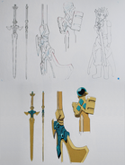 Holy Sword Excalibur Design Works