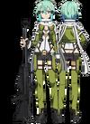 Sinon's GGO Avatar Full Body