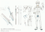 OS Production Book - Kirito's OS Avatar Design