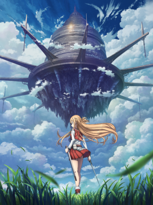 Sword Art Online Progressive Anime Announcement Key Visual