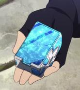 Teleport crystal