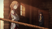 Asuna and Kirito Investigating
