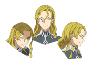 Raios Antinous face pattern for Alicization anime