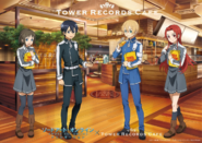 SAO x Tower Records Cafe 2019 Collaboration Visual