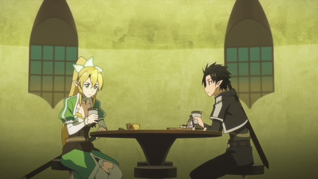 File:Kirito and Leafa at the Lily of the Valley Pavillion pub.png