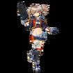 Silica Fatal Bullet character design