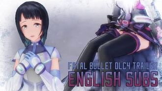 Sword Art Online Fatal Bullet - The Diva of the Snow Fields Trailer English Subs