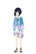 Tia Hollow Realization character design