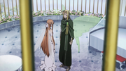Asuna and Oberon talk
