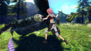 Lisbeth Hollow Realization combat
