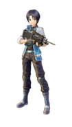 Fatal Bullet Protagonist Male character design