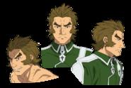 Golgorosso Balto face pattern for Alicization anime