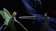 Kirito challenges Sugou