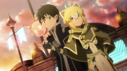Argo offering to sell Kirito and Haruyuki information MT