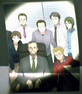 Class Photo featuring Prof. Shigemura, Kayaba Akihiko, Sugou Nobuyuki, Higa Takeru and Koujiro Rinko Alicization OP