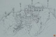Undersea Temple-Design Works Artbook