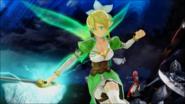 Leafa Millennium Twilight combat