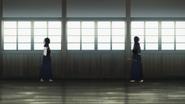 Suguha and Kazuto spar BD