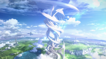 درخت جهان Sword Art Online