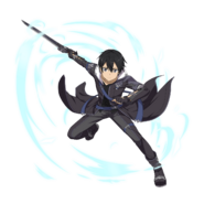 MD The Real Black Swordman - Kirito