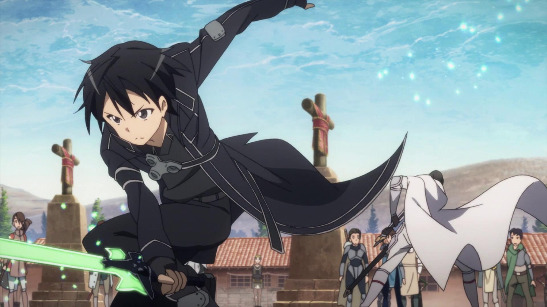 Best Isekai anime #5 SAO