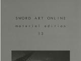 Sword Art Online Material Edition 13