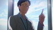 Doctor Kurahashi telling Asuna about Medicuboid