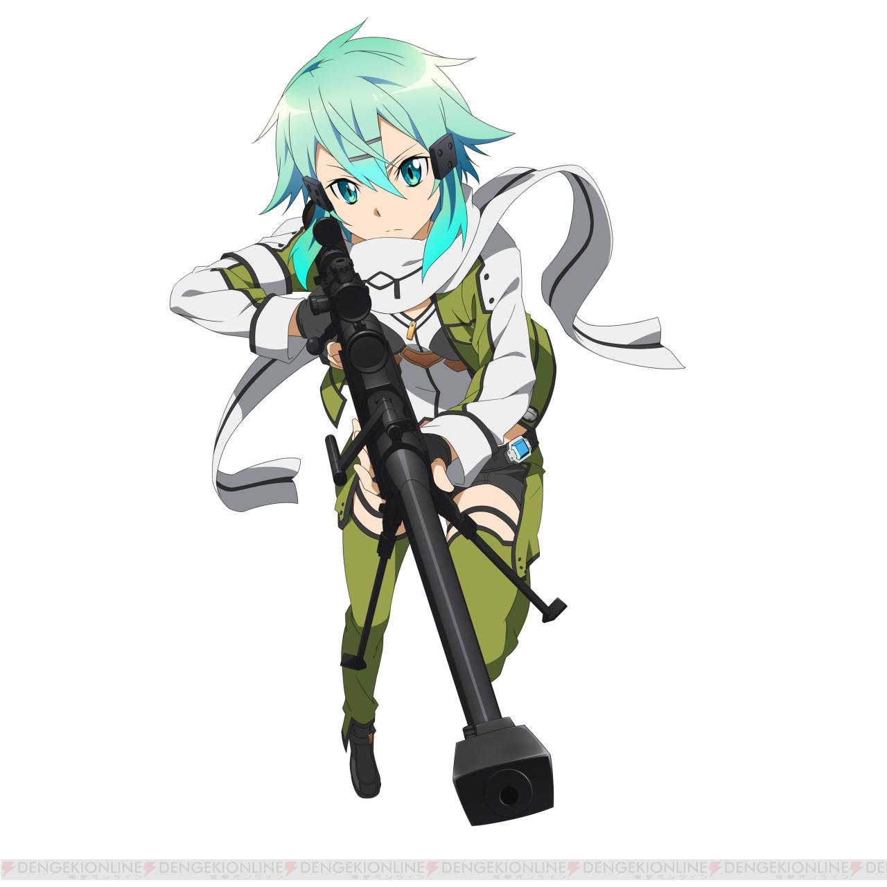 Sinons GGO Character Design 2 For Code Register
