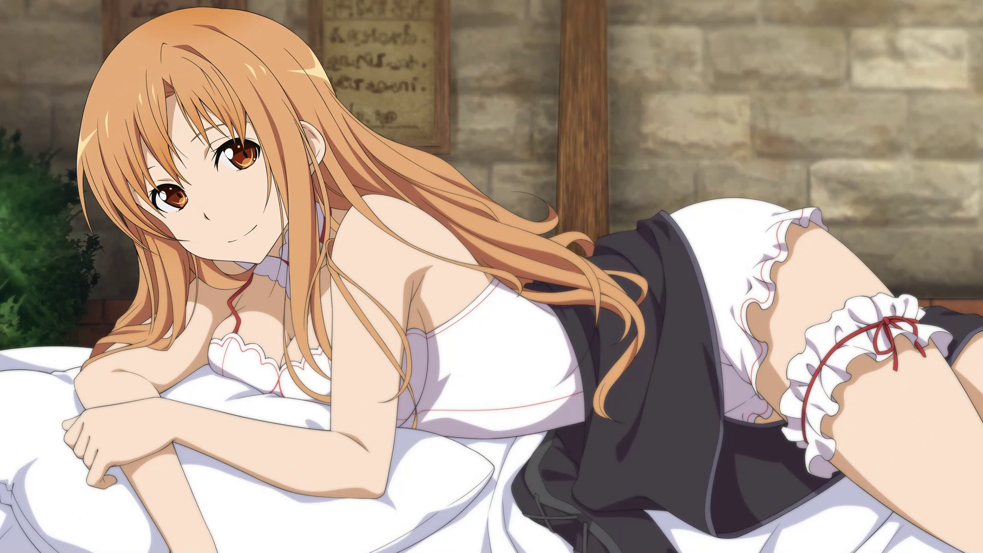 Asuna Bed Scene Hr Png