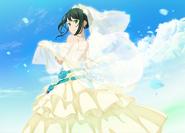 Koharu in a wedding dress June Bride Event 2019 IF