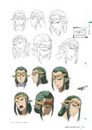 Sigurd Face Concept Art Design Works