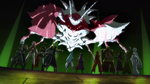 Sleeping Knights and Kirito's group defeating 28th floor boss