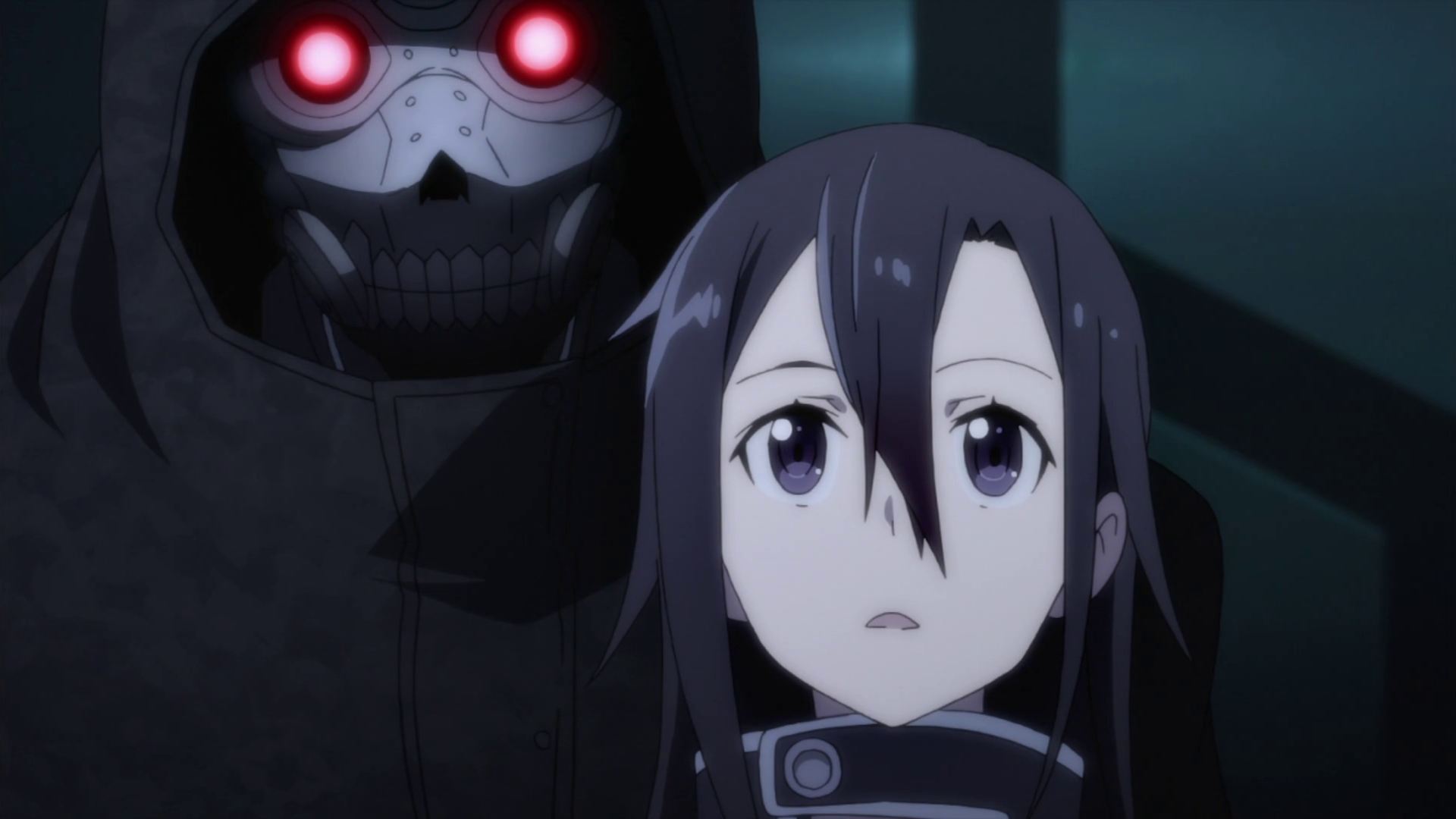 Bild - Death Gun approaching Kirito.png   Sword Art Online ...