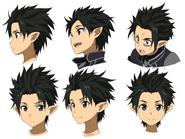 Kirito ALO Face Design