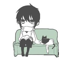 FileA Boy With A Black Cat
