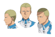 Volo Levantein face pattern for Alicization anime