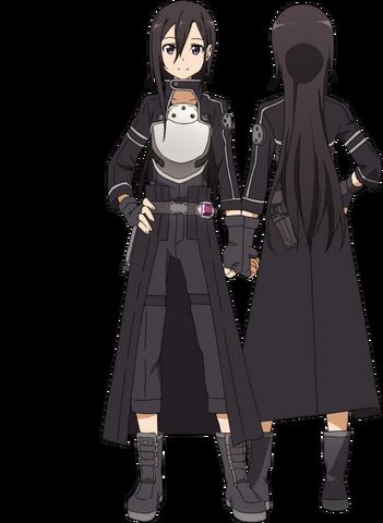 File:Kirito's GGO Avatar Full Body.png