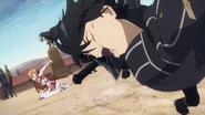 Asuna slaps Kirito