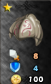 Gladiator Helm of Attack Arena Icon
