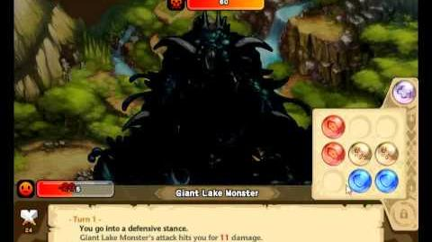 Giant Lake Monster