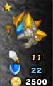 Champion's Azure Helm Arena Icon