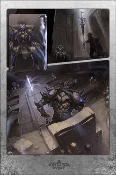 Malfong, Undead King's Legacy Manga
