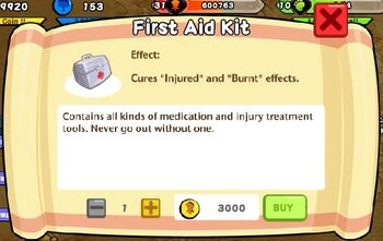First Aid Kit Text
