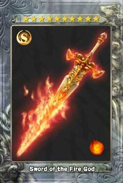 Sword of the Fire God New