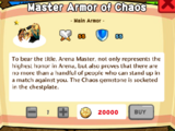 Master Armor of Chaos